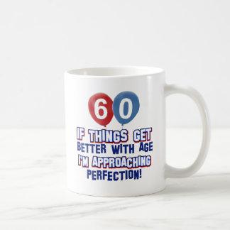 60th year old birthday gift coffee mug