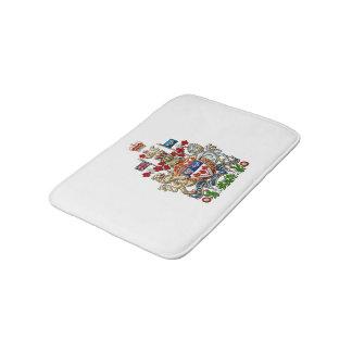 [610] Canada Coat of Arms [3D] Bathroom Mat