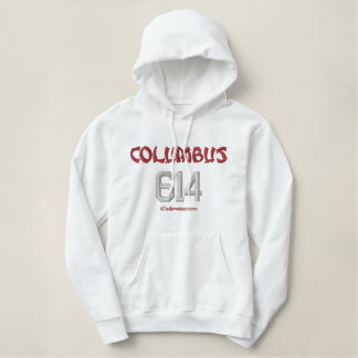 614 Columbus Embroidered Hoodie