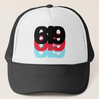 619 Area Code Trucker Hat