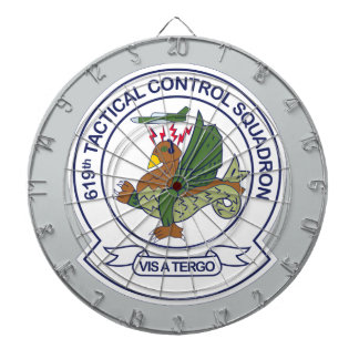 619th Tactical Control Squadron Dartboards