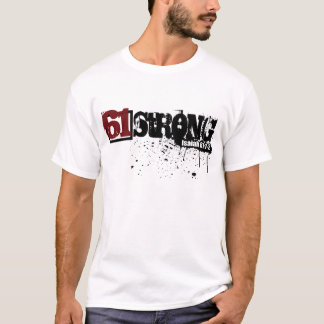 61 Strong Paint Splatter Two-Sided T-Shirt