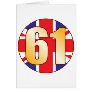61 UK Gold Card