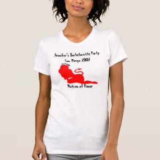 62379, diable/partie vilaine/Nice d'ange de T-shirt