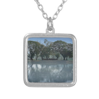 62-THAI16-0799-2054 SILVER PLATED NECKLACE
