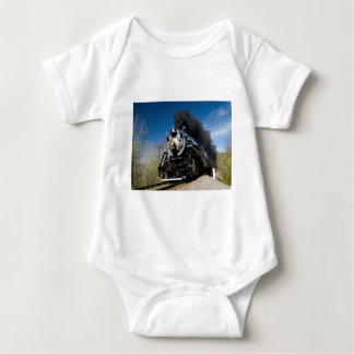 630 steam coming over remote trestle baby bodysuit