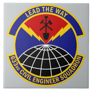 633rd Civil Engineer Squadron - Lead The Way Tiles