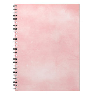 6358_solid-paper-pink- PINK COTTONCANDY PUFFY BACK Notebook