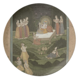 63.794 'Tambula-Seva', Krishnagar, West Bengal, 17 Plates