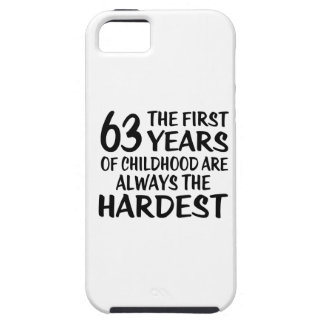 63 The First  Years Birthday Designs iPhone 5 Cases