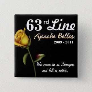 63rd Line 2 Inch Square Button