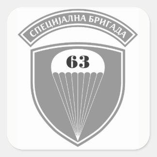 63rd Parachute Battalion Square Sticker