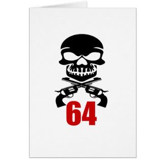 64 Birthday Designs Card