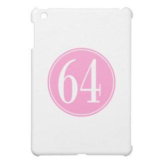 #64 Pink Circle iPad Mini Covers