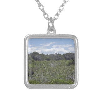 64-SOL16-170-3268 SILVER PLATED NECKLACE
