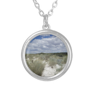 64-SOL16-175-3273 SILVER PLATED NECKLACE