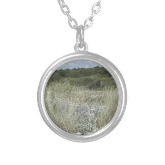 64-SOL16-176-3274 SILVER PLATED NECKLACE
