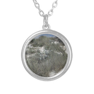 64-SOL16-177-3276 SILVER PLATED NECKLACE