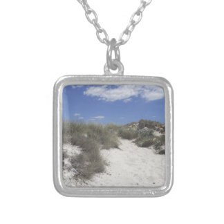 64-SOL16-178-3277 SILVER PLATED NECKLACE