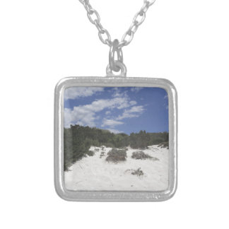64-SOL16-179-3281 SILVER PLATED NECKLACE