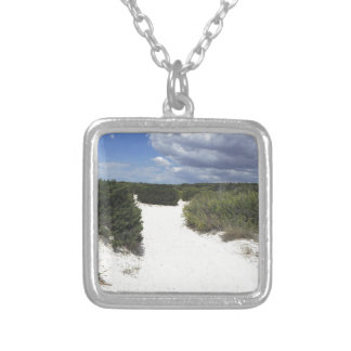 64-SOL16-180-3282 SILVER PLATED NECKLACE