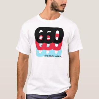 650 Area Code T-Shirt