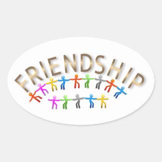 6561-friendship-vector COLORFUL CHROME FRIENDSHIP Sticker