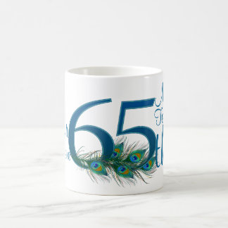 # 65 - 65th Wedding Anniversary or 65th Birthday Coffee Mug