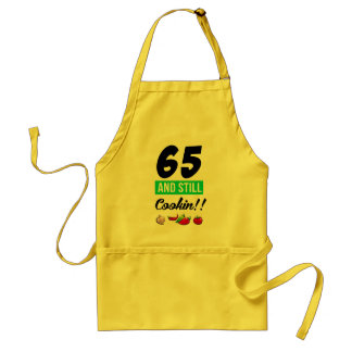 65 And Still Cookin Standard Apron