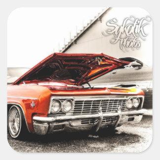 65 Impala Square Sticker