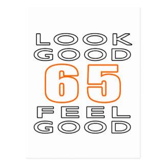 65 Look Good Feel Good Postcard