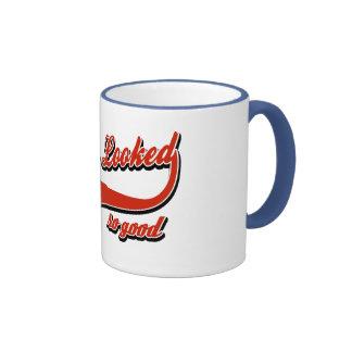 65 never looked so good ringer coffee mug