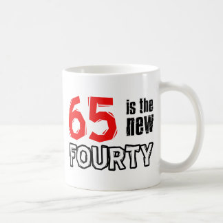 65 year old designs coffee mug