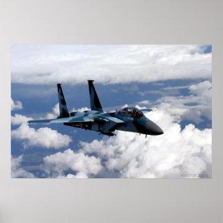 65th Aggressor Squadron F-15 Eagle Poster