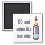 65th Birthday Aging Like Wine