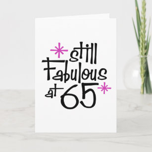 Funny 65th Birthday Cards