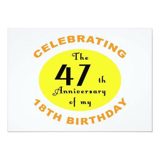 65th Birthday Gag Gift