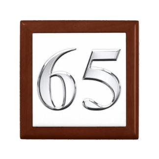 65th Birthday Gift Box