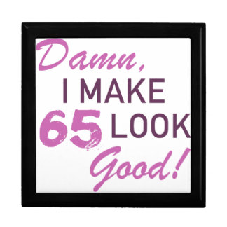65th Birthday Humor Gift Box