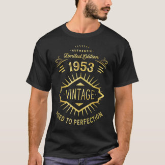 65th Birthday Party Born in 1953 Retirement T-Shirt