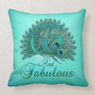 65th Birthday Pillows