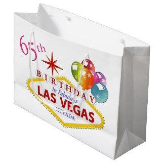 65th Las Vegas Birthday Gift Bag