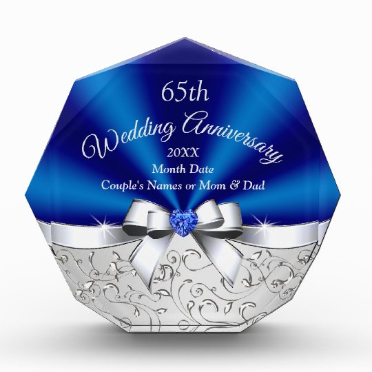 65th Wedding Anniversary Gift Ideas For Parents