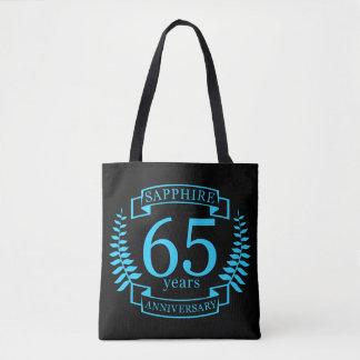65th Wedding ANNIVERSARY SAPPHIRE Tote Bag