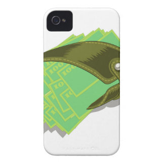 65Wallet_rasterized iPhone 4 Case