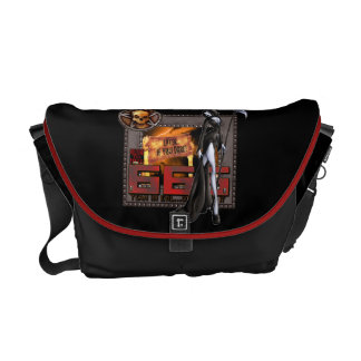 666 Medium Messenger Bag