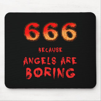666 MOUSE PAD