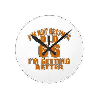 66 I Am Getting Better Wallclocks