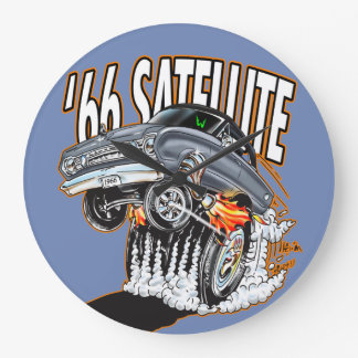 '66 Monster Hot Rod Satellite Clock