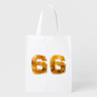 66 REUSABLE GROCERY BAG